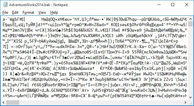 EncryptedBackup