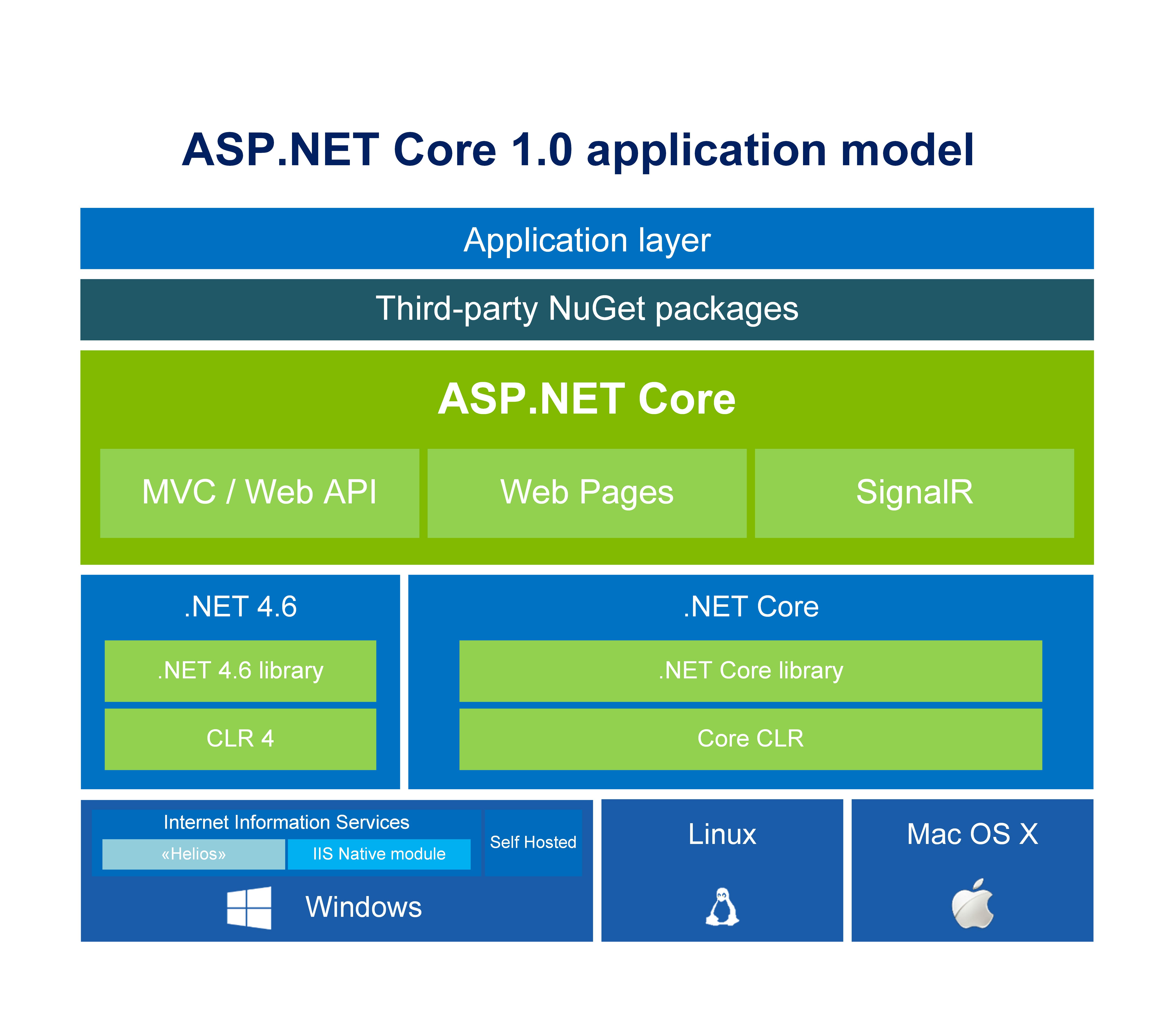 ASP.NET Core 1.0 application model