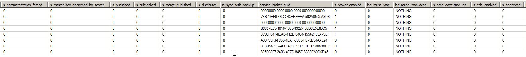 Agent Sys Databases