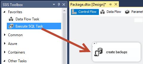 Figure 10. Execute SQL Task