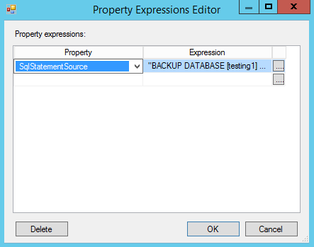 Figure 12. SqlStatementSource property