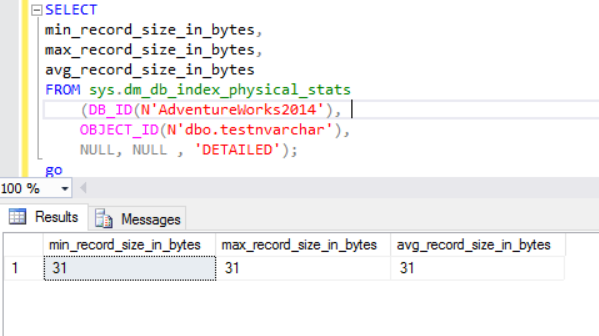 SQL Server: The dark side of NVARCHAR | {coding}Sight