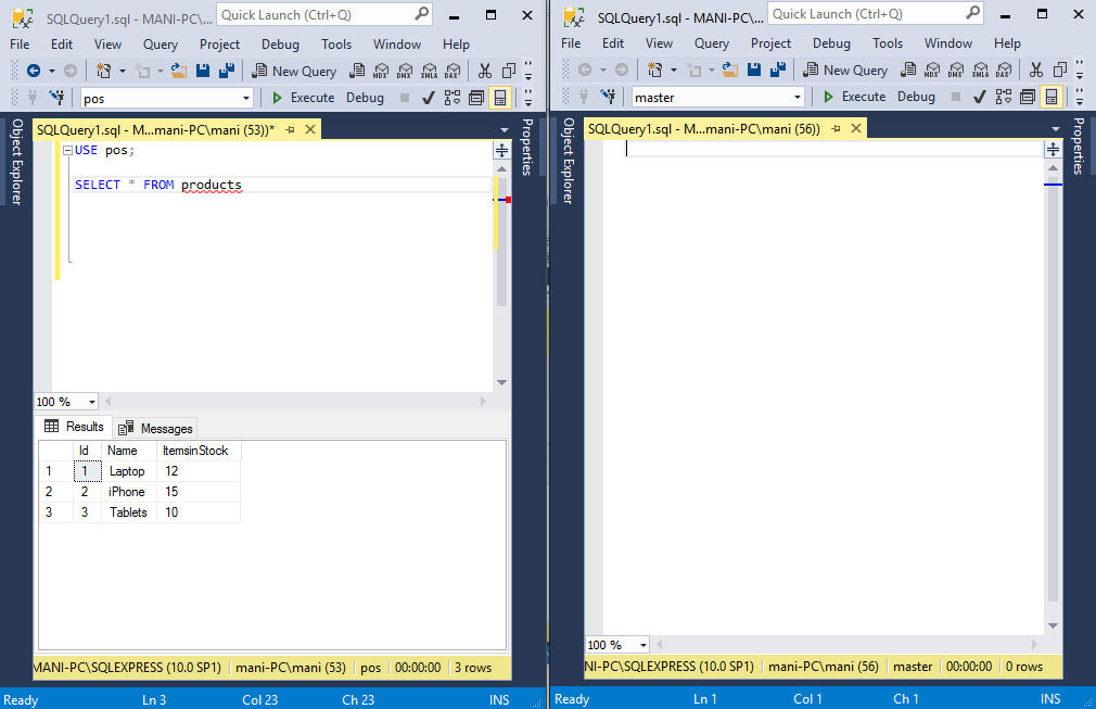 Understanding Dirty Read Problem with SQL Server | {coding}Sight