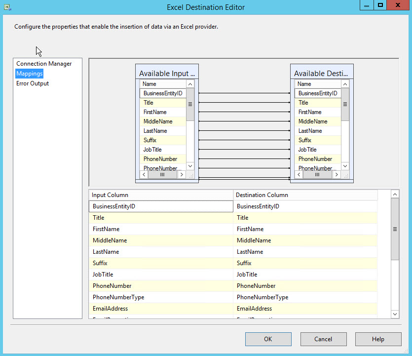 Exporting Oracle Table to Excel Worksheet | {coding}Sight