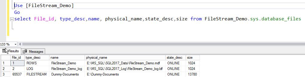 Backup and Restore FILESTREAM-Enabled Database | {coding}Sight