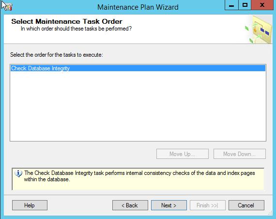 Select task order