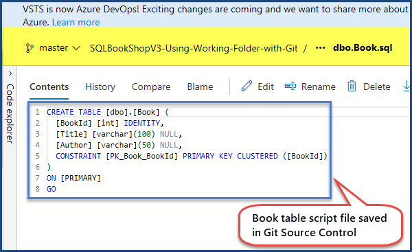 Tracking Changes is SQL Server Databaset