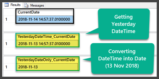 DATEADD, DATEDIFF and DATEPART T-SQL Functions