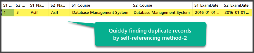 Self-referencing method 2