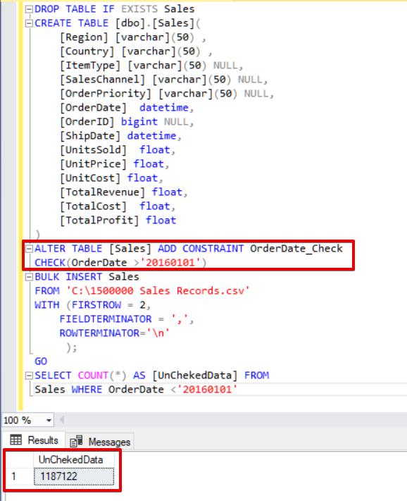 SQL Server Bulk Insert – Part 2 | {coding}Sight