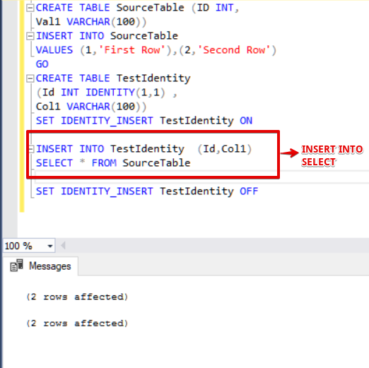 Introduction to SQL Server Identity | {coding}Sight