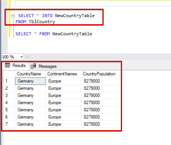 SQL Server CRUD Operations – Part 1 | {coding}Sight