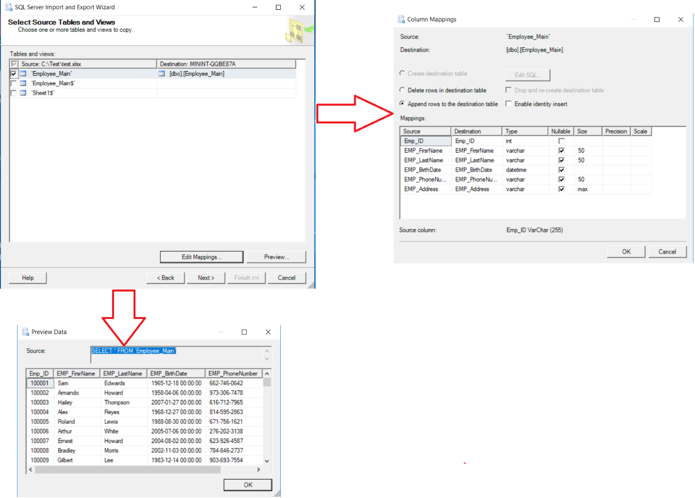 SQL Server Database Tables Export and Import Methods | {coding}Sight
