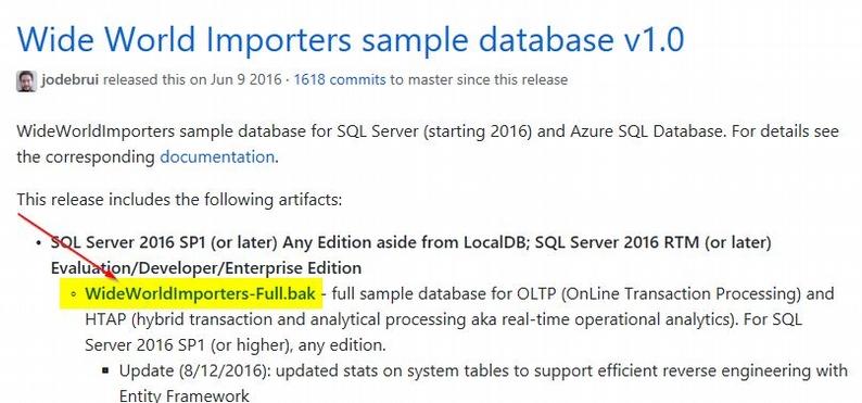 Download Sample Database