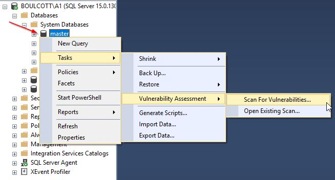 Scan Master Database