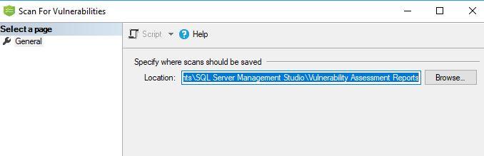 Specify Scan Folder