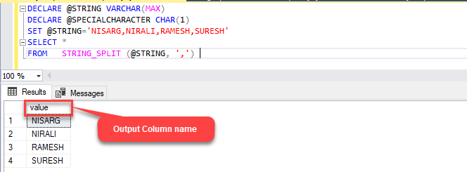 Several Ways to Insert Split Delimited Strings in a Column
