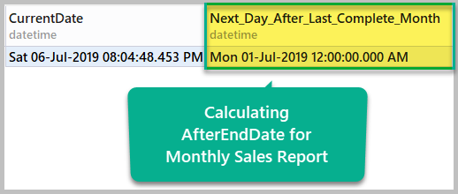 Calculating After End Date
