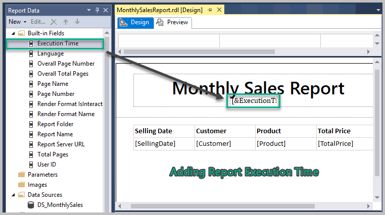 Creating Professional SSRS Report based on Stored Procedure