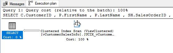Execution Plan After Clustered Index 2