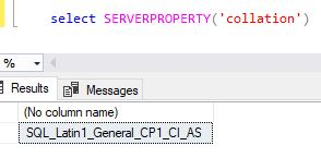 Collation in SQL Server – {coding}Sight