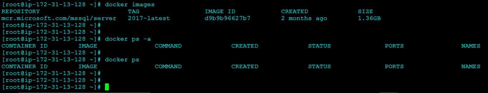 Updated Docker Image List