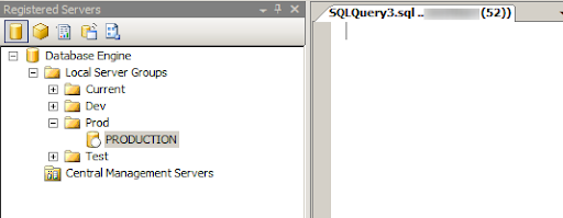 Registered Server for SSMS