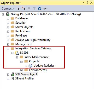 Integration Services Catalogs