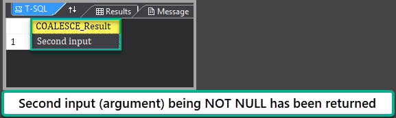 The output of the script 'String with a NULL' Example