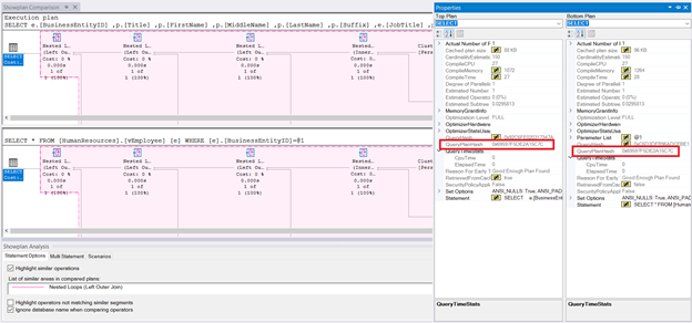 Compare Showplan of the query using a view and the query using base tables. The plans are the same. So, they are processed the same.