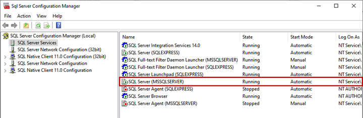 Picture 5. The result of executing the Start-Service PowerShell command