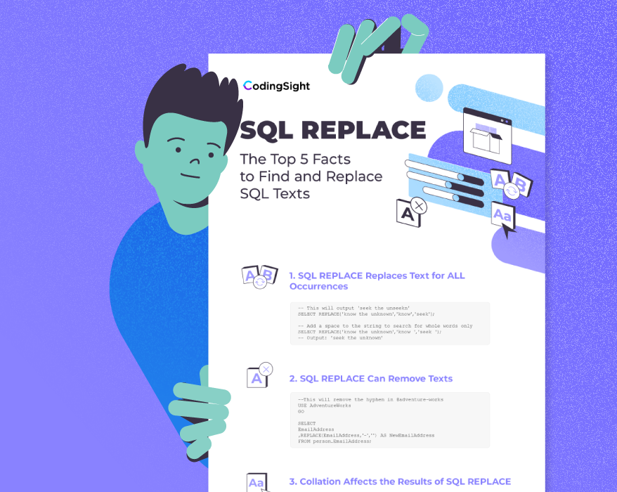CodingSight - SQL Replace